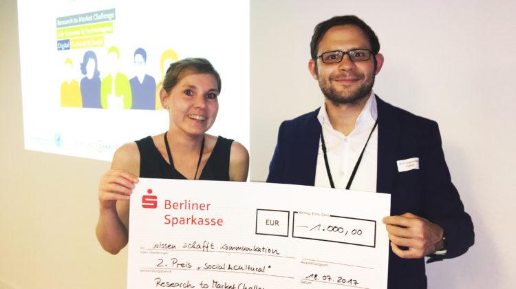 Kompetenznetz gewinnt Ideenwettbewerb