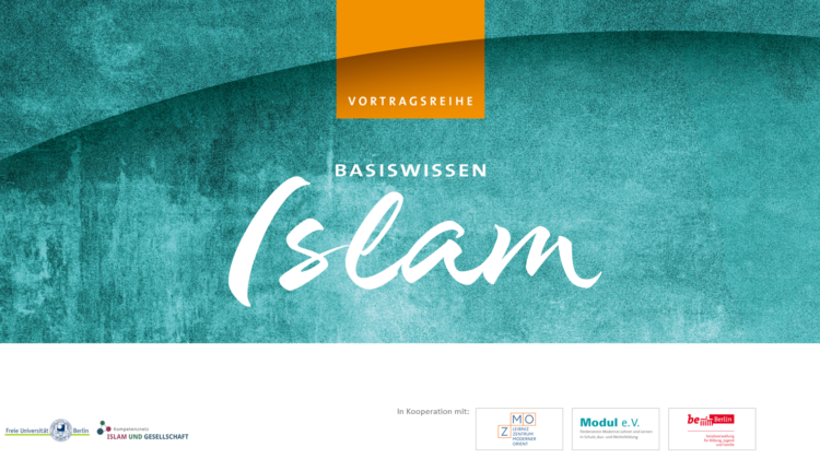 """Vortragsreihe """"Basiswissen Islam"""" – Jetzt ansehen"""